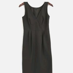 Banana Republic Womens Wool Stretch Sheath Dress